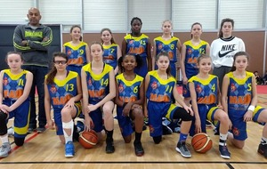 Margot en sélection U13F (2019)